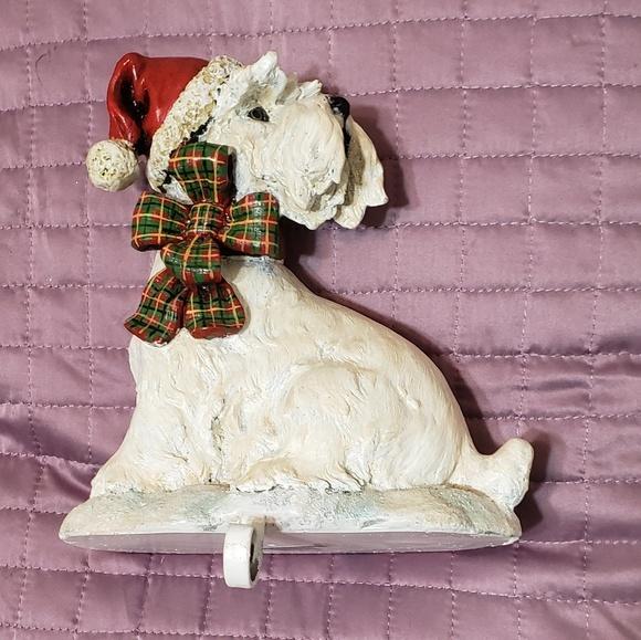 Other - Wheaten/Westie Terrier stocking hanger